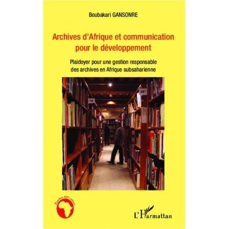 Archives d'Afrique et communication pour le développement Recto