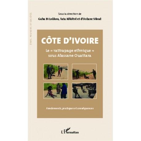 """Côte d'Ivoire Le """"rattrapage ethnique"""" sous Alassane Ouattara Recto"""