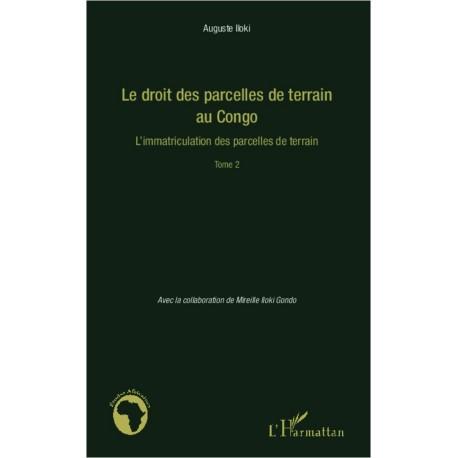 Le droit des parcelles de terrain au Congo (Tome 2) Recto
