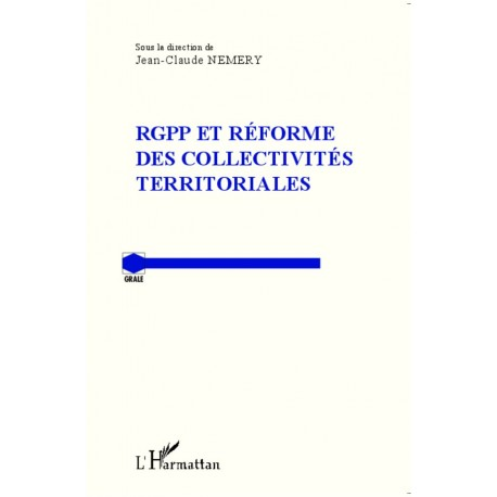 RGPP et réforme des collectivités territoriales Recto