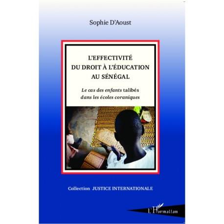 L'effectivité du droit à l'éducation au Sénégal Recto