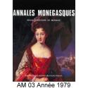 Annales Monégasques - N° 3 - 1979 Recto