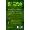 Un témoin en Guyane Verso