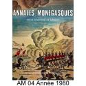 Annales Monégasques - N° 4 - 1980 Recto