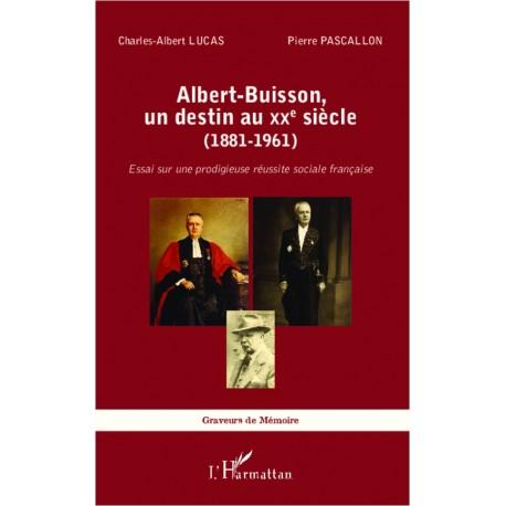 Albert-Buisson, un destin au XXe sicle (1881-1961) Recto