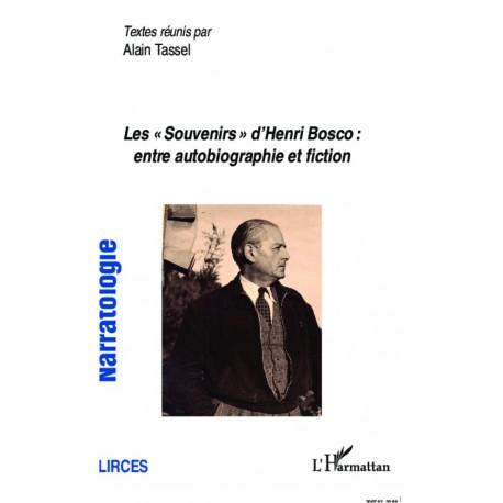 """Les """"Souvenirs"""" d'Henri Bosco : entre autobiographie et fiction Recto"""