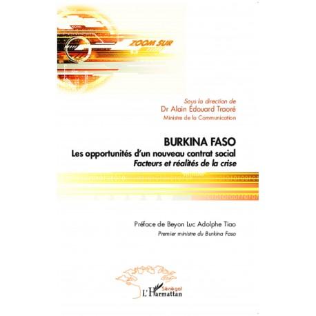 Burkina Faso Les opportunités d'un nouveau contrat social Recto