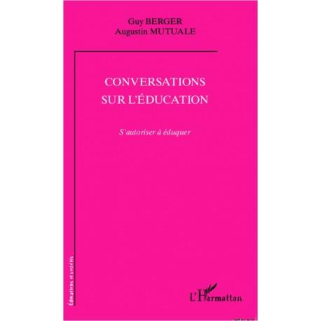 Conversations sur l'éducation Recto