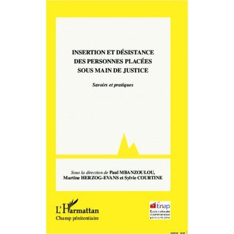 Insertion et désistance des personnes placées sous main de justice Recto