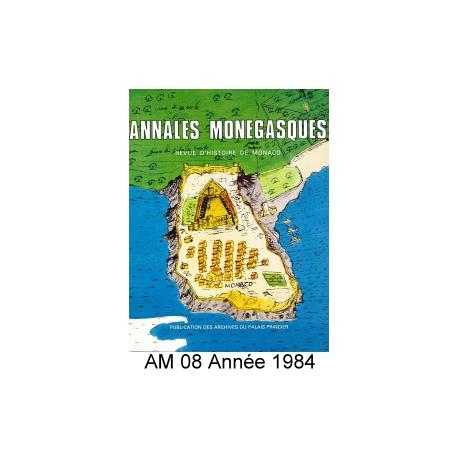 Annales Monégasques - N° 8 - 1984 Recto