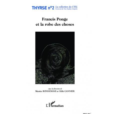 Francis Ponge et la robe des choses Recto