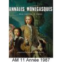 Annales Monégasques - N° 11 - 1987 Recto