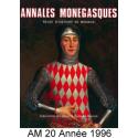 Annales Monégasques - N° 20 - 1996 Recto