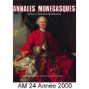 Annales Monégasques - N° 24 - 2000 Recto