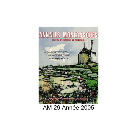Annales Monégasques - N° 29 - 2005 Recto