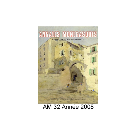 Annales Monégasques - N° 32 - 2008 Recto