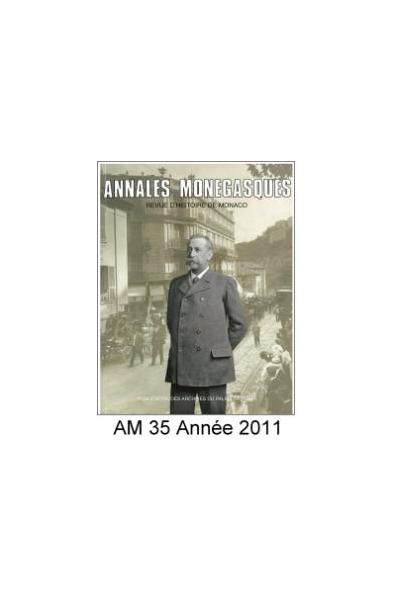 Annales Monégasques - N° 35 - 2011