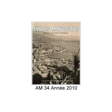 Annales Monégasques - N° 36 - 2012 Recto