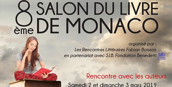 Salon du livre de Monaco 2019