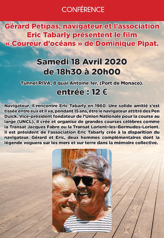 Conférence de Gérard Petitpas.