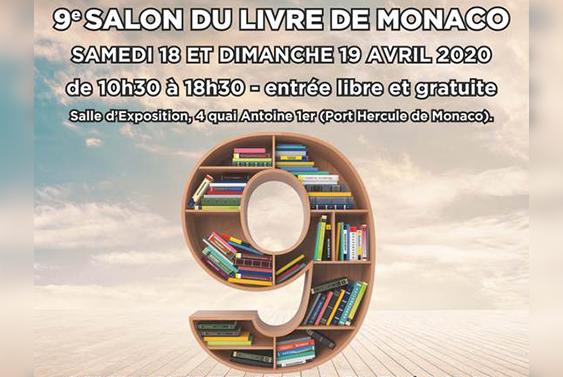 Neuvième salon du livre de Monaco.